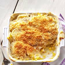 corn recipes for thanksgiving sweet corn and potato gratin recipe taste of home