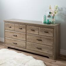 south shore versa 6 drawer dresser weathered