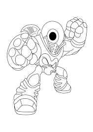 skylander giant coloring pages download print free
