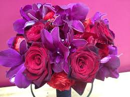 black and purple wedding bouquets u2013 thejeanhanger co