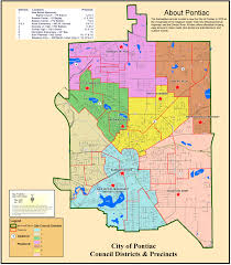 Us Zip Code Map by City Documents Maps The Pontiac City Charter Zoning Ordinance
