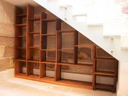 stair bookcase 40 under stairs storage space and shelf ideas to maximize bookcase