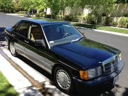 190e 1990 mercedes buy used 1990 mercedes 190e 2 6 sedan 4 door 2 6l in las