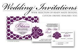 what to put on a wedding invitation wedding invitations the printer quality offset digital