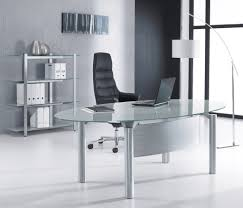 Glass Computer Desk Australia Upgrading A Stylish Glass Office Desk For Your Office Signin Works