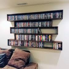 cd storage ideas 40 dvd storage ideas organized movie collection designs