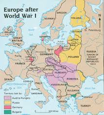 Post Ww2 Map Europe After Wwi Shaded Lost Territories Jpg 975 1077