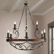 Forged Chandeliers Rustic Chandeliers Lodge Inspired And Styles Ls Plus