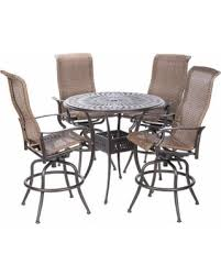 Outdoor Furniture Naples by Don U0027t Miss This Deal Naples Bar Height Set With Round Cast