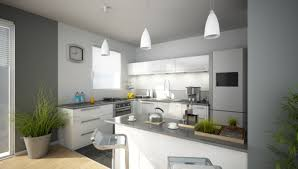 decoration des cuisines modernes idees cuisine moderne fein idee deco blanche on decoration d