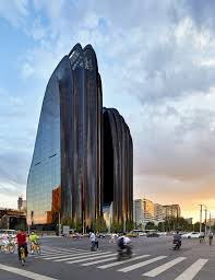 best 25 plaza design ideas mad architects completes beijing u0027s chaoyang park plaza complex