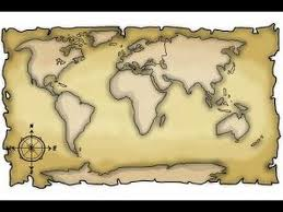 how to draw a world map youtube