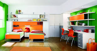 kids double desk double twin beds with corner unit home beds decoration