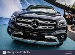 mercedes pickup 2017 mercedes benz x 250 d 4matic pick up truck at iaa 2017 car stock
