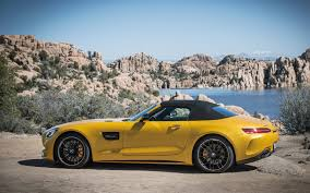 lowered amg 2018 mercedes amg gt c roadster the new in your face roadster