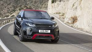 land rover evoque custom 2017 land rover range rover evoque ember limited edition review
