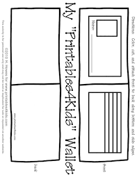us symbols coloring pages free printable wallet i put paper coins in every day during our