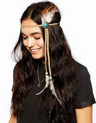 feather headband asos asos festival feather headband