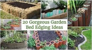 Garden Dividers Ideas Gorgeous Garden Bed Edging Ideas That Anyone Can Do