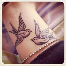 wrist tattoo birds rebrn com
