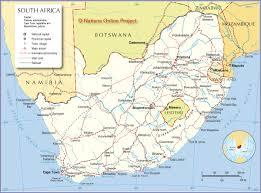 African Countries Map Political Map Of South Africa Nations Online Project