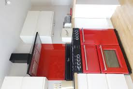 Kitchen With Red Appliances - 3 red kitchens 3 different ways all from premier kitchens