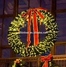 lighted outdoor christmas wreaths sacharoff decoration