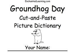 craft wild teaching adorable groundhog