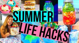 diy hacks youtube 20 summer life hacks you need to try youtube