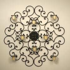 candle metal wall decor wall decor ideas