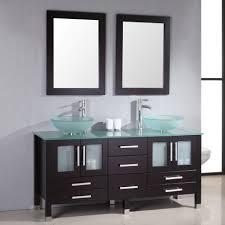 Single Vanity Bathroom Bathroom White Double Vanity 54 Vanity Cabinet Single Vanity