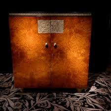 meubles art deco style meuble d u0027appui circa 1920 en loupe d u0027amboine xxe siècle n 55023