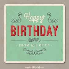 Birthday Card Ai Grunge Birthday Card Vector Free Vector Download In Ai Eps