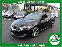 nissan maxima zero gravity seats 2017 used nissan maxima 3 5 sv tech pkg w navigation at fafama