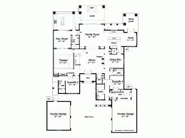 interior plans for home floor plan the house plan central village interior style spanish