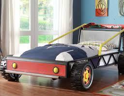 kiran race car platform bed for toddlers gadget flow
