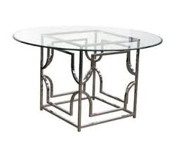 54 x 54 glass table top avalon dining table materials clear tempered glass top
