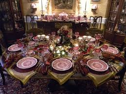 Dining Room Table Setting Dishes Beautiful Table Setting With Transferware S Vista And