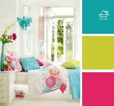 Pink And Teal Curtains Decorating I Like These Colors Together Bright Turquoise Pink And Lime