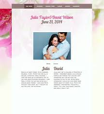 wedding web wedding websites create customize your wedding website wedbuddy