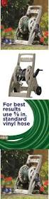 hose reels and storage 46435 water hose reel cart garden patio