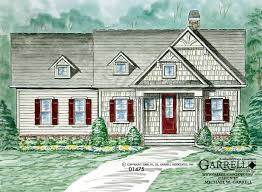 Cottage House Plans With Basement Crabapple Cottage House Plan House Plans By Garrell Associates Inc