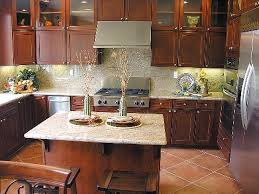 kitchen backsplash cherry cabinets kitchen backsplash ideas when budgeting matters