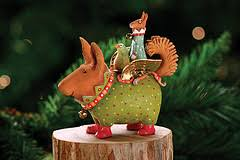 patience brewster terrier carrier ornament ornaments