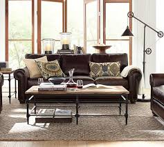 Pottery Barn Leather Pottery Barn Leather Furniture Sale Save 15 On Leather Sofas
