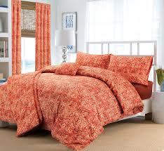 3pc janice floral boho hippie style flower duvet cover bed linen