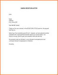 turn down job offer after acceptance sample letter example good