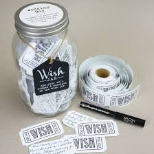 wedding wishes gift wedding wish jar find me a gift