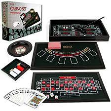 poker game table set amazon com trademark poker 4 in 1 casino game table roulette
