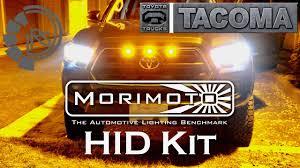 toyota tacoma hid fog lights 2016 toyota tacoma morimoto elite hid kit the retrofit source
